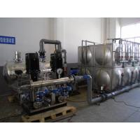 Food Grade Horizontal Stainless Steel Tanks Without Negative Pressure Manufactures