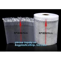 Inflatable packaging airbag roll, transportation packs, shipment packs, carton air cushion bags, customized size, types Manufactures