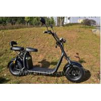 High Speed Fashion 2 Wheels Mobility Electric Scooter Motorcycle F / R V Brake Manufactures