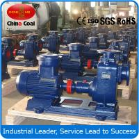 ZX series self-suction centrifugal pump Manufactures