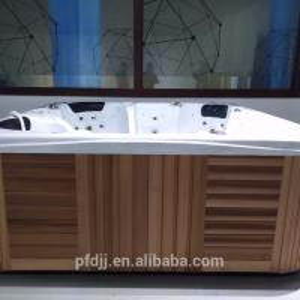 Combo Massage Hydro Spa Hot Tub  / PFDJJ 16 Hotel Massage Hydro Spa Bathtub Manufactures