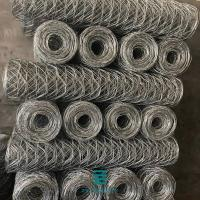 China PVC Coated Wire Mesh Fence Rolls Wire Mesh Stone Cages 8 X 10cm Mesh Hole on sale
