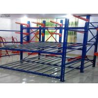 Stainless Steel Q235B Carton Flow Rack Roller Sliding Shelves Powder Coated Surface Manufactures