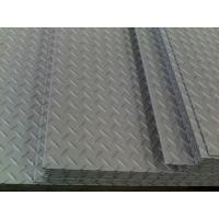 Industrial Plant Galvanized Steel Checkered Plate ASTM A36 S235JR , Tear Shaped Manufactures
