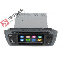 Classic Sepecial Frame 6.2 Inch Seat Ibiza Dvd Player , Car Dvd Multimedia Player 3G Manufactures