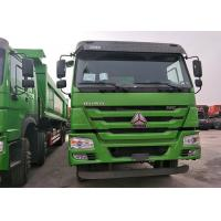 10 Roues SINOTRUK Howo Dump Truck Heavy Duty With Euro II Emission Standard Manufactures