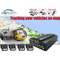 HDD Mobile Black Box CCTV DVR Kit  GPS Camera with 7inch monitor for Truck Manufactures