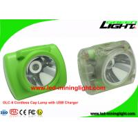 Digital Cordless LED Miners Cap Lamp Mining Hard Hat Lights 13000Lux 6.8Ah Battery Manufactures