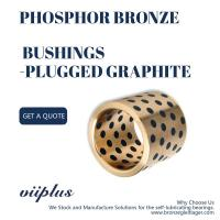 Phosphor Graphite Plugged Bronze Bushings DIN GB - CuSn5Zn5Pb5 Material Manufactures