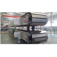 Quality 10 ~ 12sets Roll Stands PU Sandwich Panel Machine Mineral Wool Sandwich Panel Line for sale