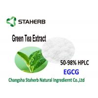 Organic Green Tea Extract EGCG 70-98% , Antioxidant powder Supplement Catechins Manufactures