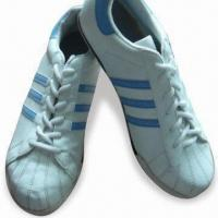 Men's Sports Shoes with Leather Upper and Rubber Outsole, Available in Different Colors and Sizes Manufactures