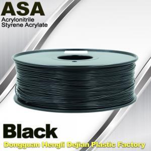 Anti Ultraviolet ASA UV 3D Printer Filament 1.75 / 3.0mm 3d Printing Filament Manufactures