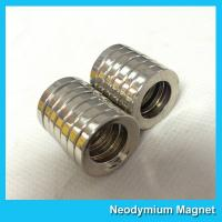 China Multipole Radial Magnetization Neodymium Magnets Ring Shaped for Speaker / Sensor on sale