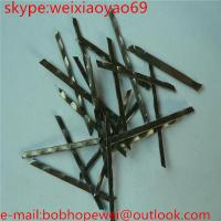 Quality HOOK END Steel Fiber for Building Concrete for sale