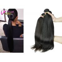 #2 Brown Malaysian Straight Hair Bundles Full Cuticle Raw And Strong Manufactures