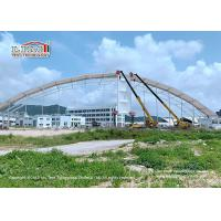 China UV Resistant Outdoor Exhibition Tents / Polygon Roof Festival Marquee Tent, big clear span polygon tent for exhibition on sale