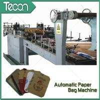 3 Kraft Paper 1 PP Film 20KG Ceramic Adhesive Paper Bag Making Machine Driven By Schneider Electric Motor Manufactures