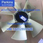 Genuine /original Perkins diesle engine spare parts FAN BLADE 145306880 for 404C-22 403C-15 Manufactures