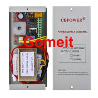 Electromagnetic Lock Power Supply , 12 Volt 5 Amp Door Access Power Supply 50Hz Manufactures