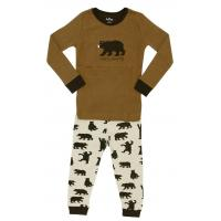 Machine Washable One Piece Boys Cozy Fabric Kids Cotton Pjamas Set For Sleeping Manufactures