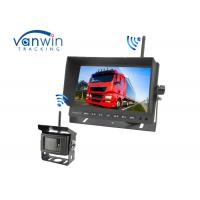 HD Screen TFT wireless Car Monitor Night Vision With Long Transmission Distance for Reversing Manufactures