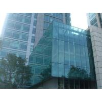 Dark Grey Building Curtain Wall Panels / Glazing Curtain Wall Insulation Manufactures