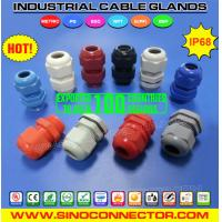 PG Type Cable Gland Plastic (Nylon / Polyamide) IP68 / IP69K Manufactures