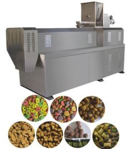 SR -65 Semi Moisture Pet Food Extruder Machine , Pet Food Manufacturing Equipment Manufactures
