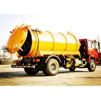 Tilt Steering Wheel Vacuum Sewage Suction Truck / Sewage Cleaning Truck Manufactures