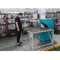 China Low Noise Glass Double Edging Machine , Variable Miter Small Glass Grinder on sale