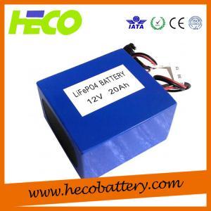 China 12V 20AH Lithium Battery Module Long Cycle Life Environmental Friendly on sale