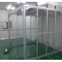China ISO 5-9  Design Softwall Clean Room Customized Size For Electronic Products on sale