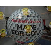 Customized Helium Inflatable Golf Ball Round 2.5m Reusable ASTM Manufactures