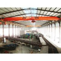 Warehouse Single Beam Overhead Crane Electric Motors 20 Ton With 7.5-32m Span Manufactures