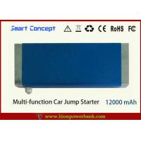 Multi-function 12000mAh Tablet Power Bank / Car Jump Starter Manufactures