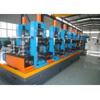 High-frequency Straight Seam ERW Pipe Mill Line / SS Tube Mill Machine Manufactures