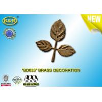 Ref No BD033 Brass Leaf Tombstone Decoration Bronze Leaves Material Copper Alloy Manufactures