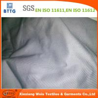 Xinxiang YSETEX EN11612 200gsm grey color flame retardant fabric Manufactures