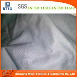 China Xinxiang YSETEX EN11612 200gsm grey color flame retardant fabric on sale