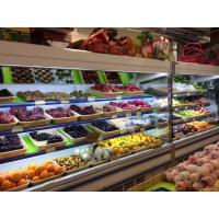 Quality Shop Refrigerated Display Cabinet Multideck Open Chiller With Night Curtain for sale