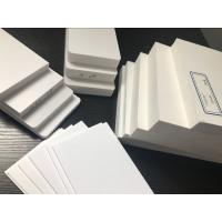 China White Weatherproof Insulation Foam Board , Custom Printed Polystyrene Foam Sheets on sale
