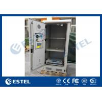 Weatherproof Battery Outdoor Electronics Cabinet Anti Corrosion Coating Manufactures