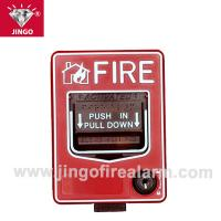 Conventional fire alarm 24V two wire bus manual call point,reset(break glass) Manufactures
