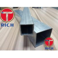 Hot Dipped ERW Galvanized Square Alloy Steel Pipe Rectangular Pipes Manufactures