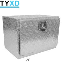 China Heavy Duty Aluminum Metal Tool Storage Box 500*500*350mm For Trailer on sale