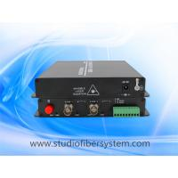 Outdoor PTZ HDTVI fiber converters with RS485 data  for CCTV system,support 720P 1080P Hikvision Cameras Manufactures