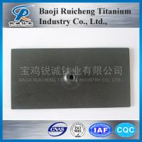 China Ru-Ir Oxide Coated Titanium Anode for Swimming Pool on sale