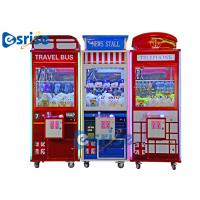 Claw Candy Chocolate Toy Grabber Machine Customized Size Coin Operated for sale
