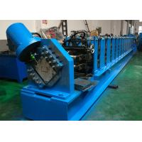 Manually Adjustable Cold Roll Forming Machine , 80 - 250mm C Purlin Roll Former Manufactures